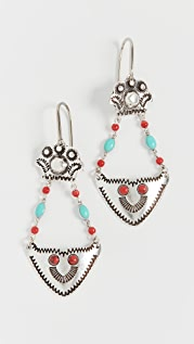 Isabel Marant Etched Earrings
