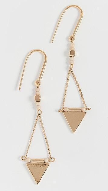Isabel Marant Triangle Drop Earrings