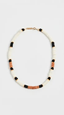 Isabel Marant Bone Bead Necklace
