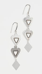 Isabel Marant Love Earrings