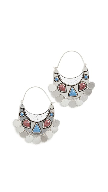 Isabel Marant Move Your Body Earrings