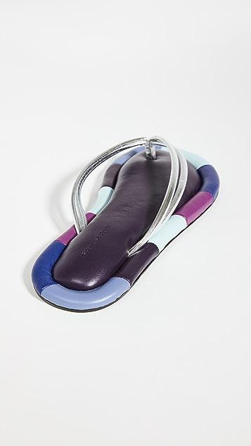 Isabel Marant Ecksa Thong Flip Flops