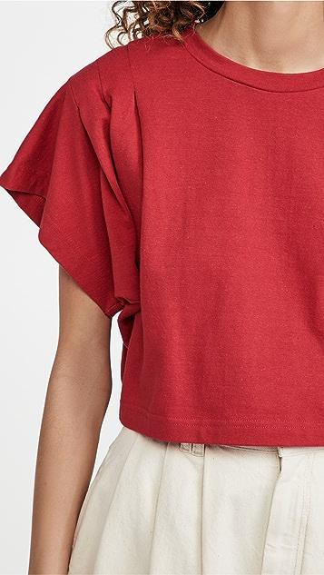 Isabel Marant Zinalia 短款 T 恤