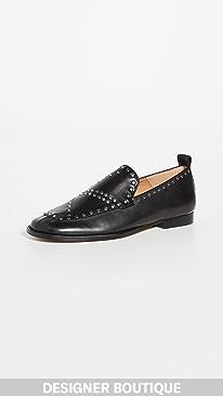 이자벨 마랑 Isabel Marant Studded Loafers,Black