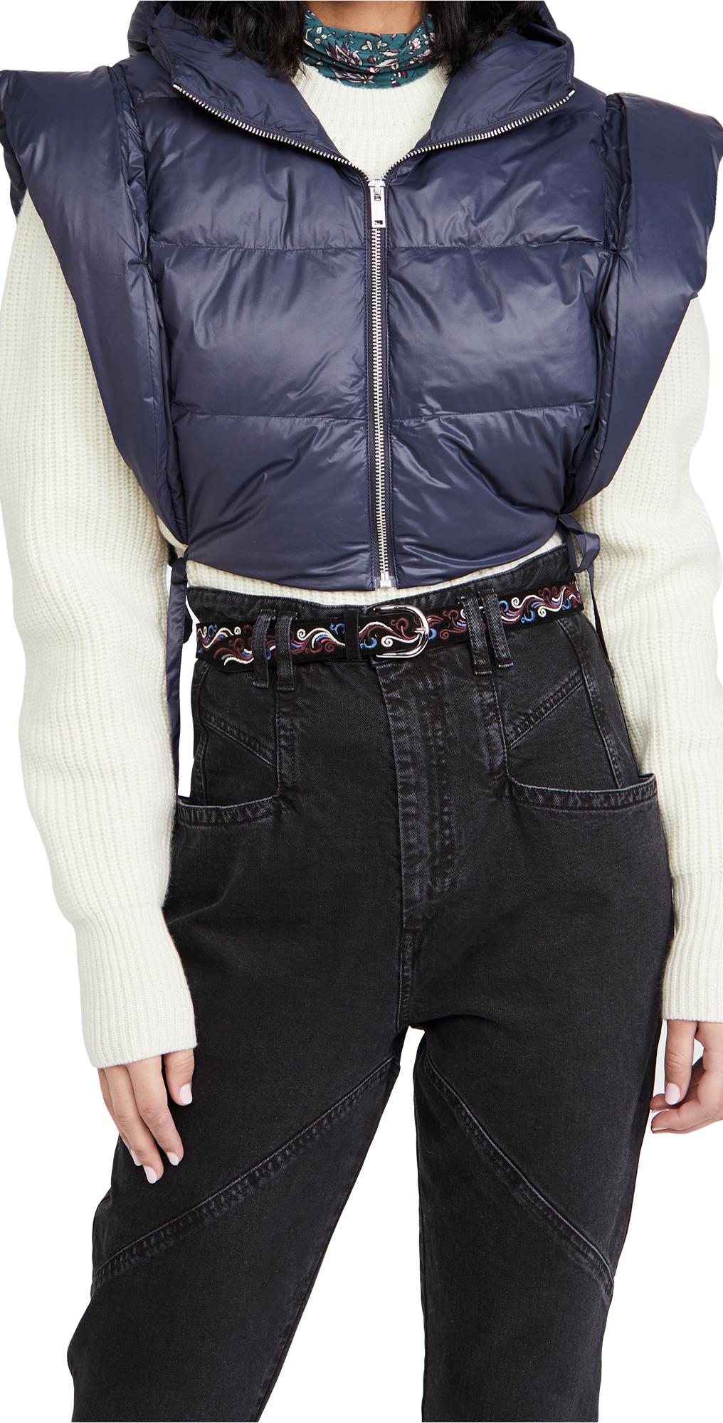 Isabel Marant Hoodia Puffer Vest