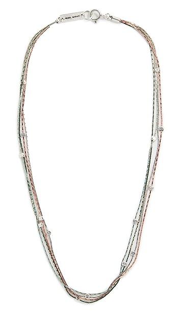 Isabel Marant Multi Strand Necklace