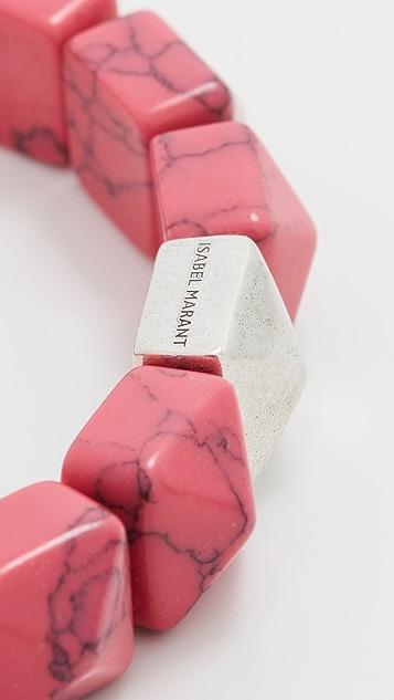 Isabel Marant Resin Bracelet