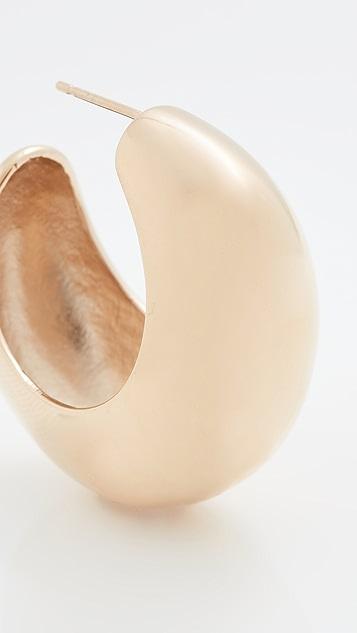 Isabel Marant 闪光色新月形耳环