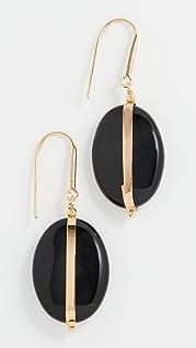 Isabel Marant Agate Stone Earrings