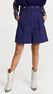 Isabel Marant Delilaz Shorts