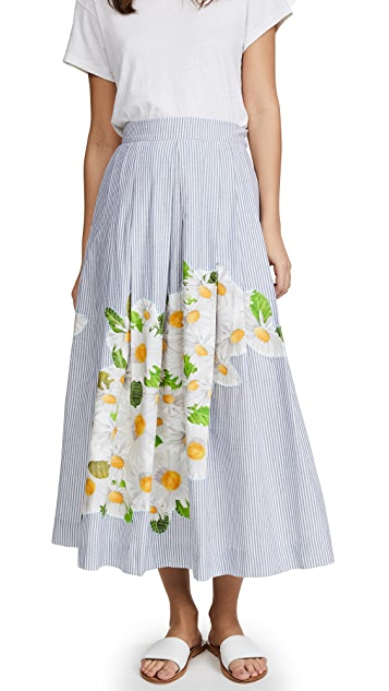 Isolda Embroidered Rio Skirt