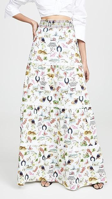 Isolda Acai Skirt
