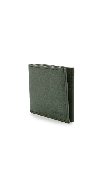 Jack Spade Barrow Leather Slim Billfold