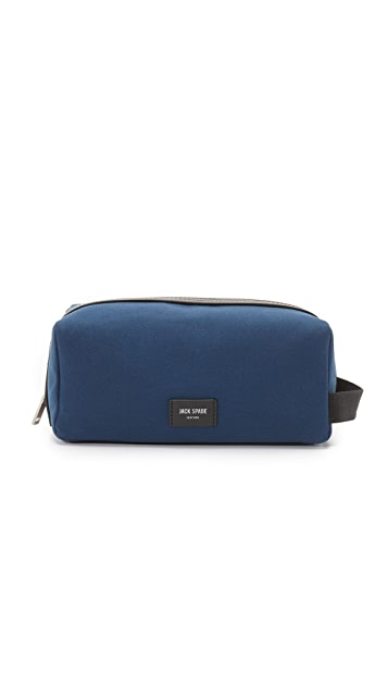 Jack Spade Surf Canvas Travel Kit