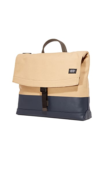 Jack Spade Dipped Canvas Folded Messenger Bag