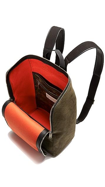 Jack Spade Suede Utility Backpack