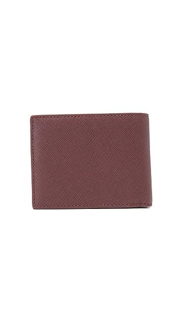 Jack Spade Barrow Leather Slim Billfold
