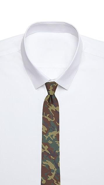 Jack Spade Camo Print Tie