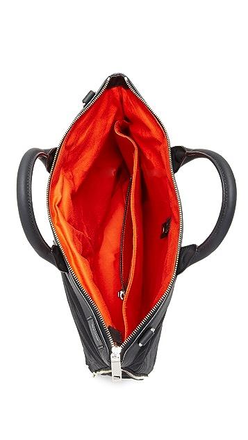 Jack Spade Quilted Waxwear Helmet Bag