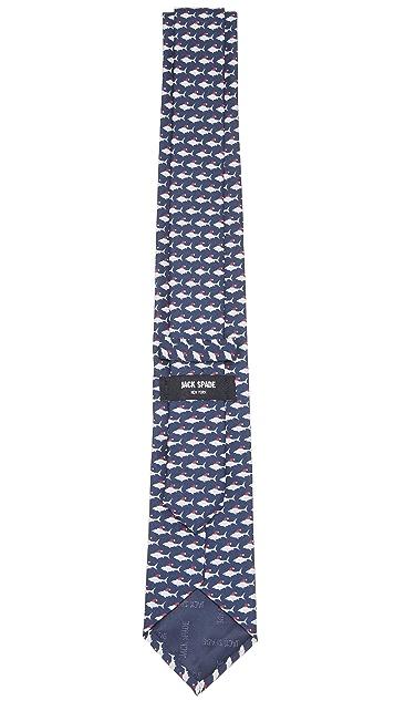 Jack Spade Santa Shark Tie