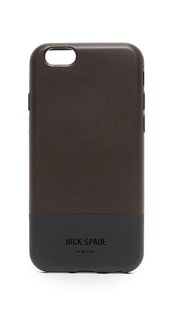 Jack Spade Colorblock iPhone 6 / 6s Case
