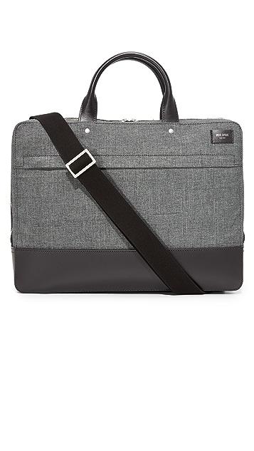 Jack Spade Tech Oxford Slim Briefcase