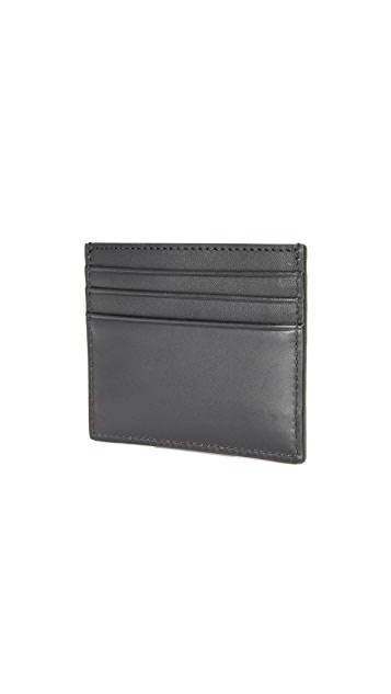 Jack Spade Pebbled Leather 6 Card Holder