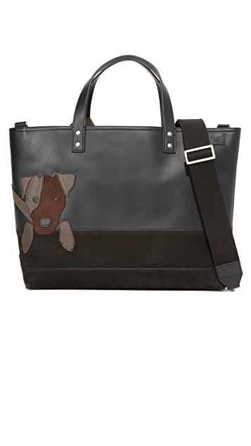 Jack Spade Jack Russell Coal Bag