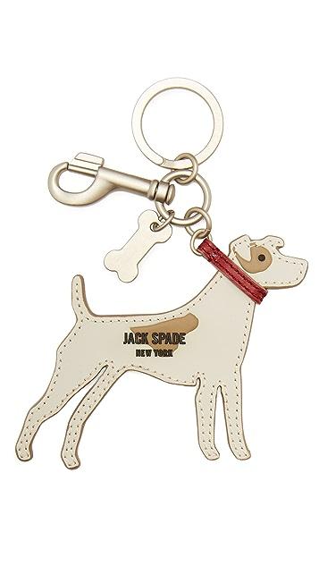 Jack Spade Jack Russell Key Fob