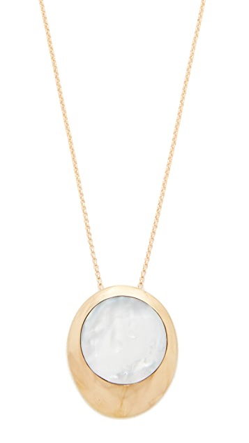Jacqueline Rose Core Inlay Pendant Necklace