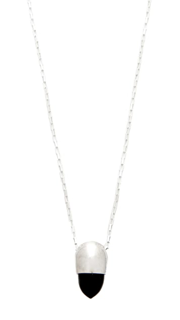Jacqueline Rose Signet Pendant Necklace