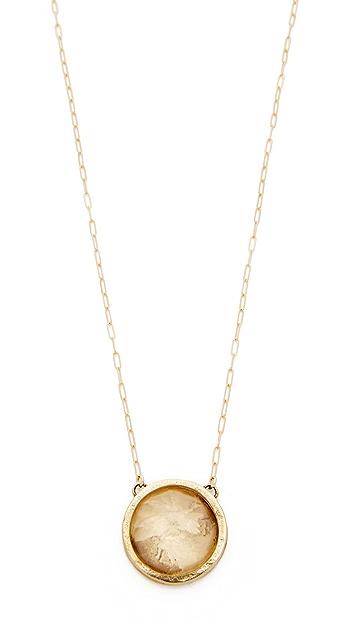 Jacqueline Rose Crystal Quartz Necklace