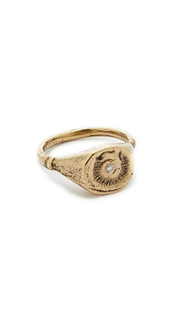 Jacqueline Rose Fossil Ring
