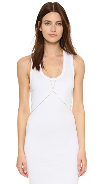 Jacquie Aiche JA Beaded Body Chain