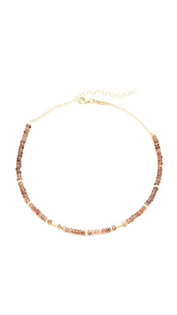 Jacquie Aiche JA Andalusite Beaded Necklace