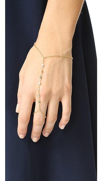 Jacquie Aiche JA 7 CZ Hand Chain