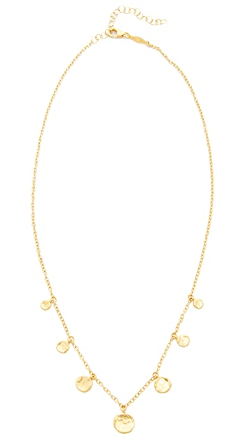 Jacquie Aiche Hammered Disc Necklace