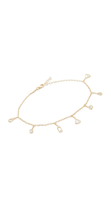 Jacquie Aiche Shapes Shaker Anklet
