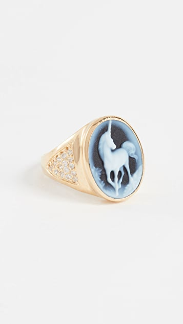 Jacquie Aiche JA Large Unicorn Ring