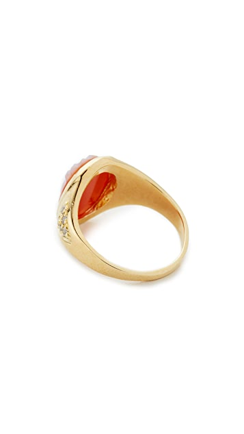 Jacquie Aiche JA Small Rose Ring