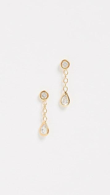 Jacquie Aiche Drop Stud Earrings
