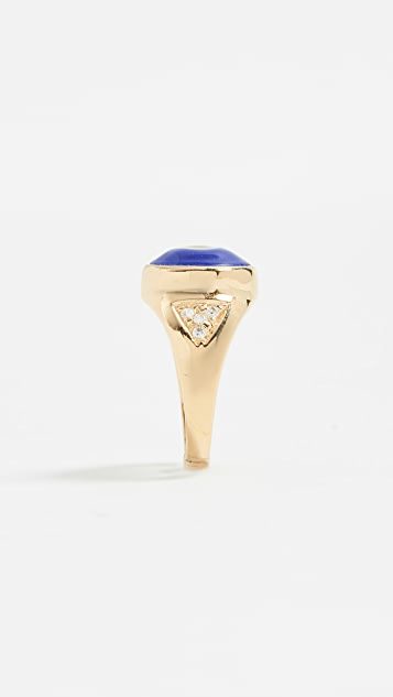 Jacquie Aiche Evil Eye Pinky Ring