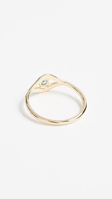 Jacquie Aiche CZ Eye Ring zClYj2