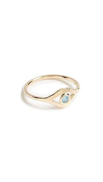 Jacquie Aiche CZ Eye Ring