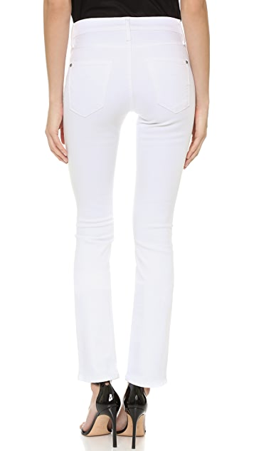James Jeans High Rise Straight Leg Jeans