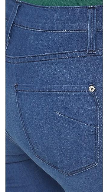 James 牛仔裤 Twiggy 九分贴腿牛仔裤