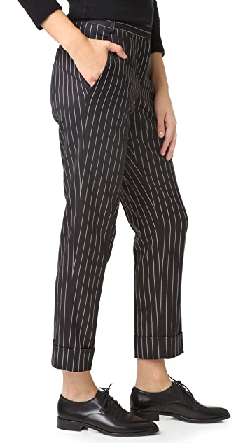James Jeans Cuffed Slouchy Trousers
