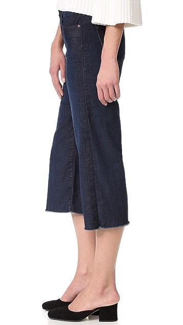 James Jeans High Rise Frayed Hem Carlotta Jeans