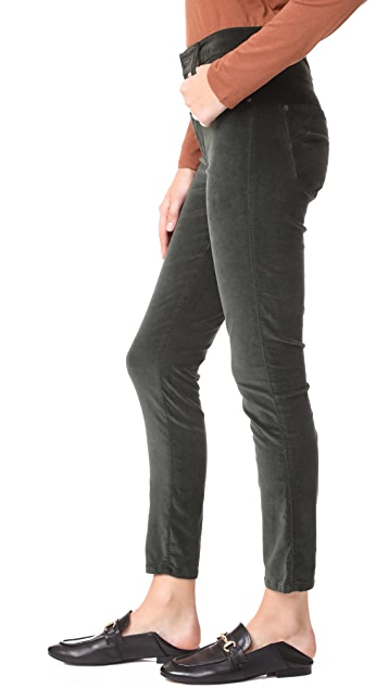 James Jeans Velveteen Skinny High Rise Legging Jeans