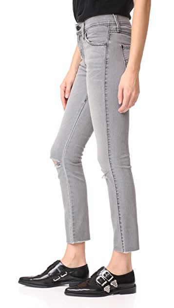 James Jeans Ankle Ciggy Mid Rise Pencil Jeans